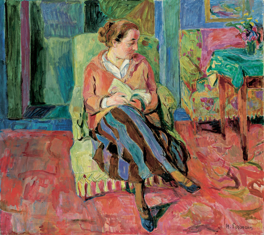 Hans Purrmann: Portrait of Mathilde Vollmoeller, 1924 (1924/46).